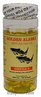 1 Alaska Deep Sea Omega3 Fish Oil 100 Softgels EPA DHA, FRESH, Made In USA