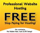 WEB HOSTING  - FREE - UNLIMITED DOMAIN NAMES, FREE SSL & MORE. NO HIDDEN FEES
