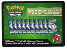 10x Pokemon Trading Card Game TCG Sun & Moon Ultra Prism Online Booster Code Set