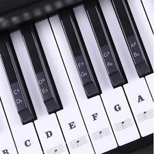 Elektrisches Klavier Keyboard Noten-Aufkleber 54/61/88 Tasten Piano Sticker DE