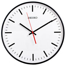 Seiko Quartz Wall Clock With Quiet Output QXA701K