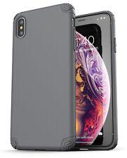 iPhone XS Max Case Ultra Slim Case Cover Protective Thin Grip (Nova) Grey