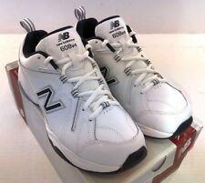 NEW BALANCE MX608V4W Men's Crosstrainers Shoes  White/Navy D,  2E & 4E NEW