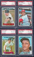 """PSA 8 1967 Topps #5 Whitey Ford """"Chairman of the Board"""" New York Yankees"""