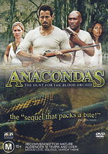 Anacondas - The Hunt For The Blood Orchid - Action / Horror - NEW DVD