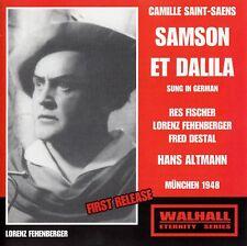 Camille Saint-Saens: Samson et Dalila-Altmann-Munich 1948/2 CD-Set