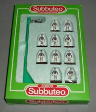More details for subbuteo football west ham united 1988-89 team set 667 table soccer boxed rare