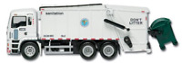 Truck Bruder Load New York City Sanitation Department Garbage Toys Rt8957