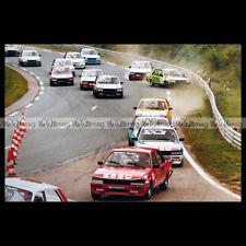 #pha.027586 Photo TROPHEE PEUGEOT 505 TURBO CIRCUIT ROUEN-LES-ESSARTS 1985 Car