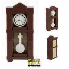 LEGO® Grandfather Clock - Antique Interior Furniture for modular/haunted - NEW