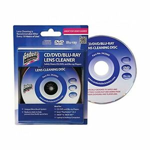 Endust for Electronics, CD/DVD Lens Cleaner, Blu Ray, Great for desktop compu...