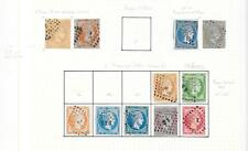 Greece stamps 1861 Collection of 11 Hermes Head stamps CANC F/VF Cat Value $2200