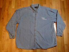 Girl Scouts Adult Blue Denim Shirt Sierra Pacific Size 3XL (Oregon, SW Wash)