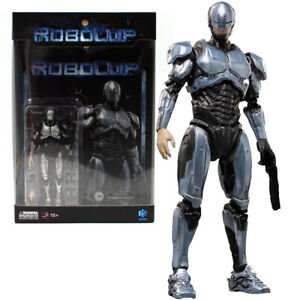 """Hiya Robocop Silver 4"""" Action Figure 1:18 Scale Mini Series Official IN Stock"""