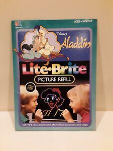 Aladdin Lite Brite vintage Disney Complete
