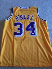 Shaquille O Neal Autographed Lakers Jersey! JSA Authenticated! a847206d8