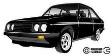 Ford Escort RS2000  MK 2 - 2Door - Black