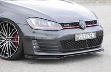 Rieger CUP Spoilerlippe SCHWARZ für VW Golf 7 VII GTI GTD Frontspoiler Schwert