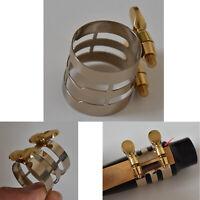 Cupronickel Reed Clip Ligatur Verschlussklemmen Teile für Altsaxophon Mundstück