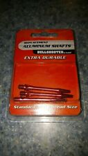 """Extra Durable Replacement Aluminum Shafts Standard 3/16"""" Thread Set Of Three"""