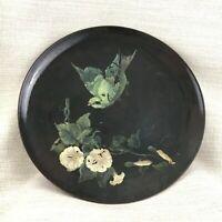 1877 Antico Minton Ceramiche Caricabatterie Grande Piastra Vittoriano Estetica