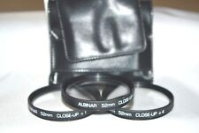 Albinar 52 mm Close-UP Lens Kit (+1, +2. +4) with Tri-Fold Case (S-64)