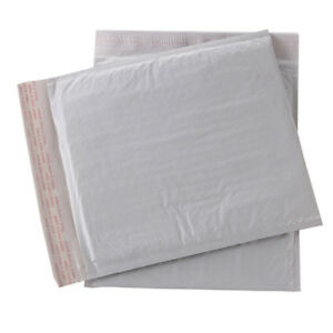 10 Pcs Self Seal Shipping Bag Poly Bubble Mailers Padded Envelopes Shockproof