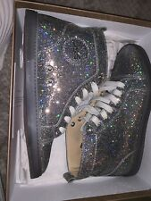 Christian Louboutin Rantus Glitter Trainers Sneakers RARE 100% Authentic
