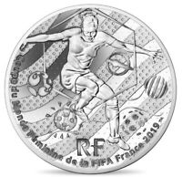 FRANCE 10 € EURO SILVER PROOF FIFA WOMEN WORLD CUP AMERICA DESIGN 2019 @ RARE