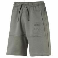 Puma Mens Archive Fashion Bermuda Sweat Lounge Casual Shorts Grey 575682 39 X58A