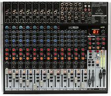 Behringer XENYX X2222USB 22-Channel Mixer Board w/ USB & FX - IN BOX! Perfect!