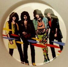 Kiss Asylum  1.5 Inch badge Gene Simmons Paul Stanley