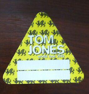 Tom Jones World Tour 2010 - VIP Backstage Aftershow Guest Pass unbenutzt