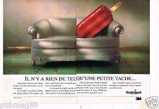 Publicité advertising 1990 (2 pages) Le Ruban adhésif Scotchgard 3M