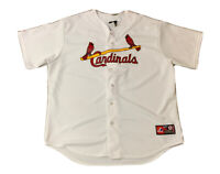 St Louis Cardinals Stan Musial Majestic Cooperstown Collection Jersey Size 2XL