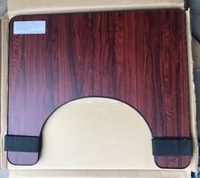 Essential Wheelchair Tray, Rosewood NEW