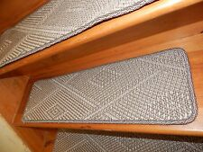 14  Step 9'' x 30'' Sisal 100% Natural carpet  Stair Treads rug Staircase .