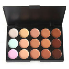 Pro 15 Color Concealer Camouflage Face Highlight Foundation Cream Makeup Palette