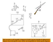 KIA OEM 2002 Sedona Wiper-Rear Window Arm 0K56A67421