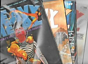 Heavy Metal #265 269 284 299 Low grade Lot GD/VG to VG 2013 - 2020 1977 Series