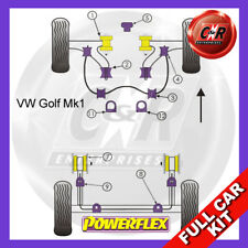 VW Golf Mk1 / Cabrio Powerflex Full Bush Kit PFBKG1