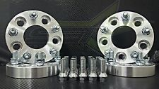 5X112 TO 5X114.3 MERCEDES / AUDI HUB CENTRIC WHEEL ADAPTERS 1 INCH 25MM + BOLTS