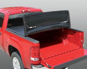 Rugged Liner Vinyl Tri Fold Cover For 04-15 Titan 6.5FT(W/ or W/O Utility Track)