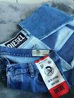 DIESEL MHARKY 0077V Men's W34 L30 Slim Skinny Cropped Jeans