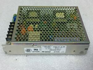 Kepco TDK FAK12-4.2K DC POWER SUPPLY In 120VAC 50-60HZ Out 12VDC 4.2A