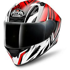 CASCO HELMET INTEGRALE VALOR CONQUER RED GLOSS AIROH SIZE XL