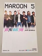 Maroon 5 2018 promo advert tour poster 11x17 tickets cd Adam levine