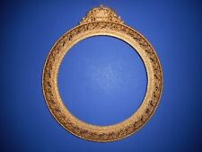 Vintage Collectible Plate Wall Display Holder Royalty Crown Queen Gold Filigree
