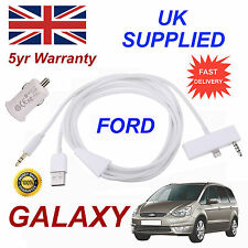 PER FORD GALAXY IPHONE 6 PLUS 6S PLUS USB & AUX Cavo audio 1A USB