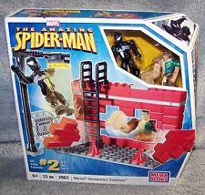 MEGA BLOKS THE AMAZING SPIDER-MAN  MARVEL STREETSERIES SANDMAN SET #2063 HTF